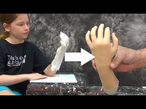 Lifecasting Tutorial: Hand Mold With PlatSil Gel-10
