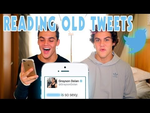 Reading Our Old Tweets