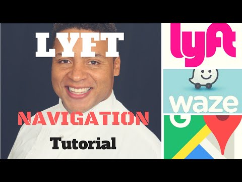How to Change the  Navigation app within the Lyft driver app Tutorial