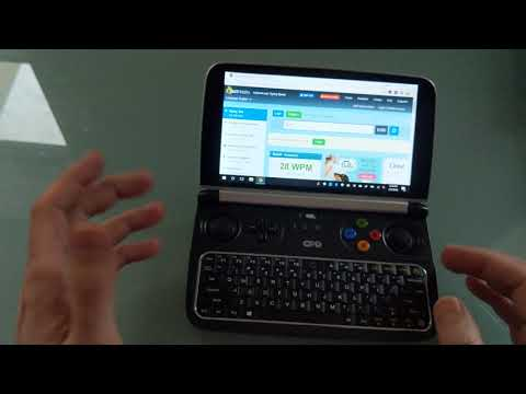 GPD Win 2 keyboard overview (and typing test)