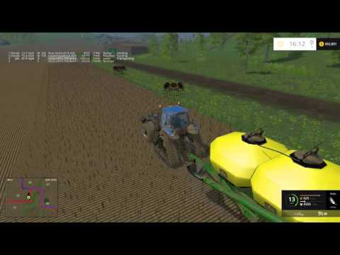 Using All the Seeds: Farming Simulator 15 PC Pleasant Valley Episode 33