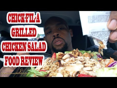 CHICK-FIL-A | GRILLED CHICKEN MARKET SALAD | FOOD REVIEW
