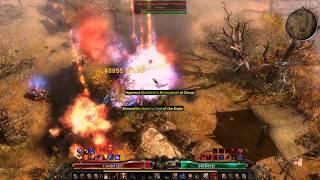 Grim Dawn AoM 1 0 4 0 - 2h Fire Forcewave Commando hunting