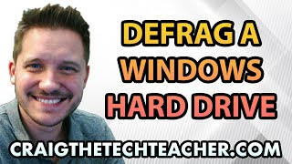 How To Defragment A Windows 7 Hard Drive Free Ep 31
