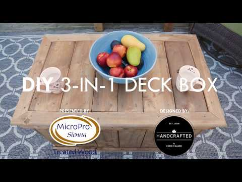 How To Build A 3-In-1 Deck Box - A DIY Guide to Multifunction Storage with Chris Palmer