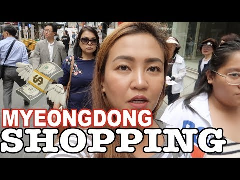 SHOPPING SA MYEONGDONG! - anneclutzVLOGS