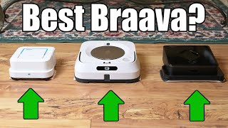Irobot Braava Jet Mopping Robots - Which is the BEST? - 240 vs 380t vs M6