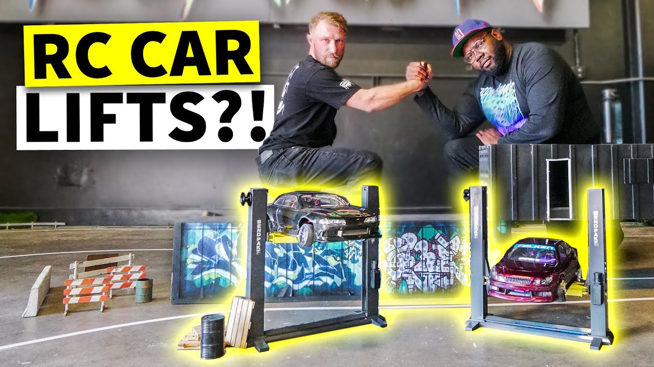 We've Gone off the Deep End. Hert and Dan's RC Car Level-up! And We Set up the Bodega's New RC Track