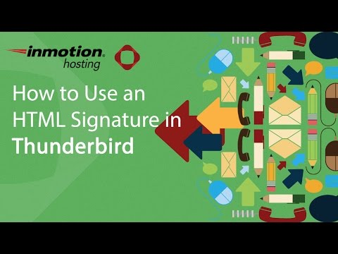 How to Use an HTML Signature in Mozilla Thunderbird
