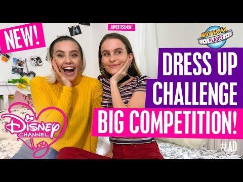 DISNEY CHANNEL VLOG | MOVIESTAR PLANET DRESS UP CHALLENGE | BIG COMPETITION! #AD