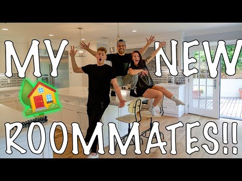 MEET MY NEW ROOMMATES!!!!!