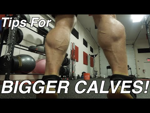 Calves: Why Mine Are Growing & Yours Are Not! MUSCLE GAIN TIPS!