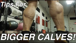 Calves Why Mine Are Growing Yours Are Not Muscle Gain Tips