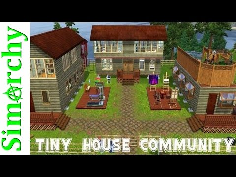 Tiny House Living Community - The Sims 3 House Tour