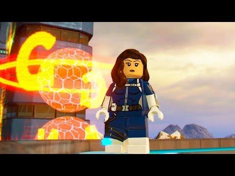 LEGO Marvel Super Heroes 2 Quake Unlock Location + Free Roam Gameplay