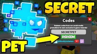 SECRET* ROBLOX PET SIMULATOR CODES! Videos - 9tube tv