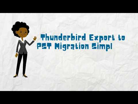 Mozilla Thunderbird Export to PST for Outlook 2016, Outlook 2013
