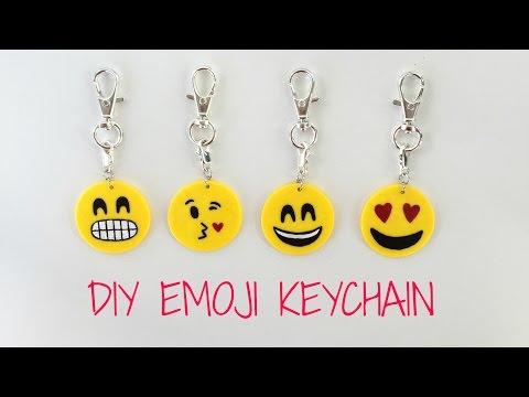 DIY Emoji Keychain