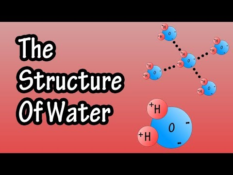 Structure Of Water Molecule - Chemistry Of Water