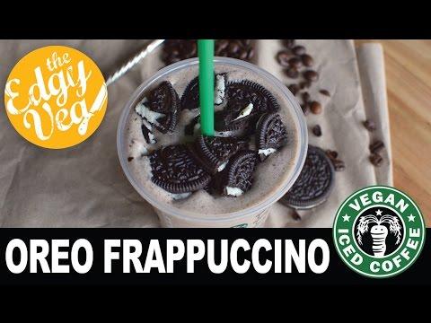 Starbucks Oreo Frappuccino Recipe VEGAN   The Edgy Veg
