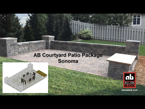 AB Courtyard Patio Package Sonoma