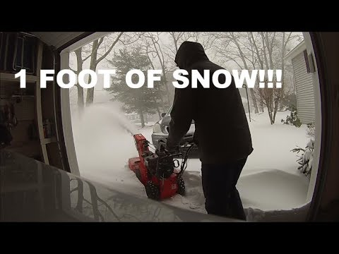 Snowblowing with an Ariens Compact 24!