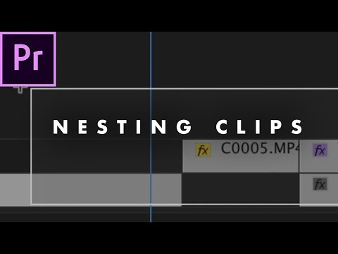 WHAT is Nesting in Premiere Pro and WHY is it Important? | Basic Editing Tutorial