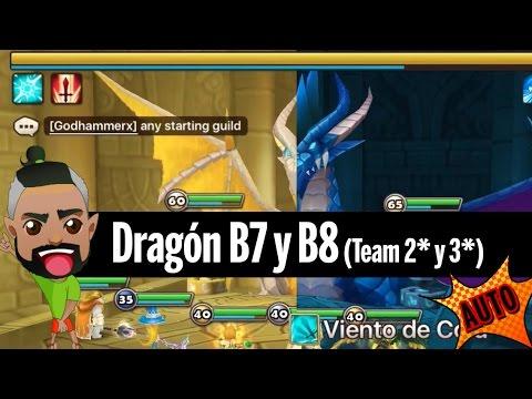 TEAM DRAGON B7 B8 AUTO (2* Y 3*) + HATERVLOG + ARENA