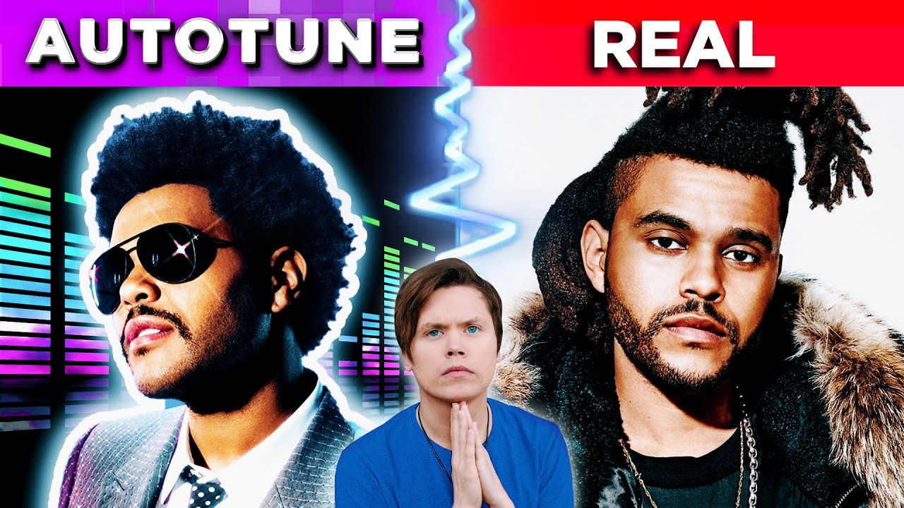 Famous Songs With & Without Autotune