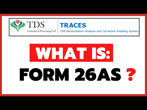 What is Form 26AS and How to Download it through TRACES Website? (HINGLISH)