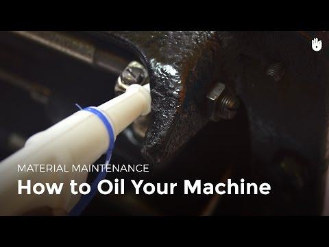 How to oil your machine | Sewing