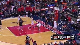 2nd Quarter, One Box Video: Washington Wizards vs. Toronto Raptors