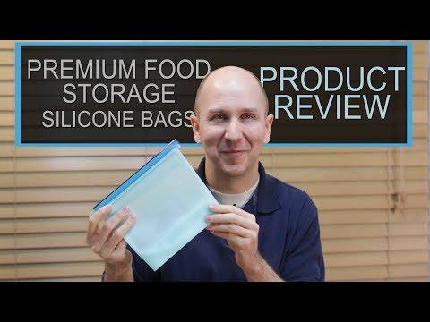 Premium Reusable Silicone Food Storage Bags | Product Review 9