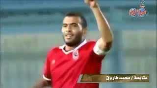 اهداف مبارة الاهلى وبتروجيت فى الدورى المصرى 1 0 هدف متعب  فى دقيقة 90