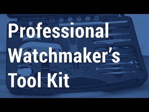 7815 Bergeon Master Watch Repair Tool Kit