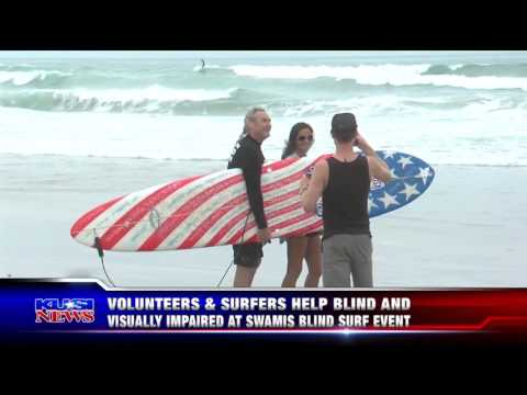 KUSI News Spotlights the 22nd Annual Blind Surf Event