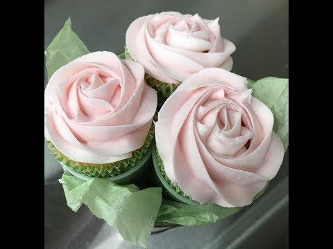 Rose Cupcake Bouquet Tutorial