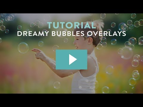 How to Apply Bubble Overlays in Photoshop