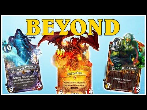 Hearthstone - 4 Beyond Legendaries, 6 Golden Legendaries