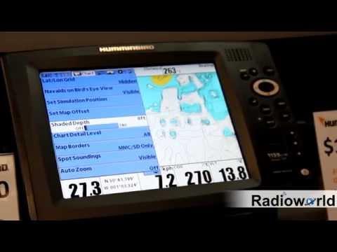 How To Set Navionics Shaded Depth on Humminbird GPS