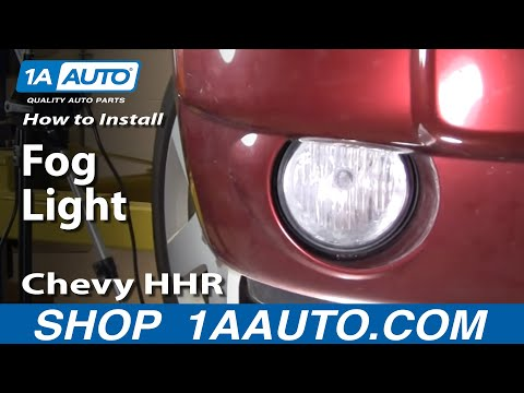 How To Install Replace Fog Light Chevy HHR 06-10 1AAuto.com