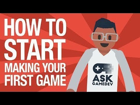 How to Make Your First Video Game