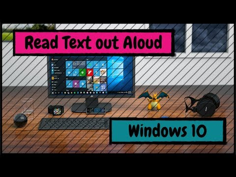 How to Make Your Windows 10 PC Read Text out Aloud on Websites
