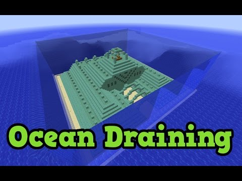 Minecraft Ocean Monument TU31 Sponges - Draining The Ocean #2