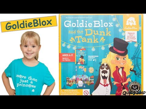GoldieBlox and the Dunk Tank - Great Engineering STEM Toy for Girls!