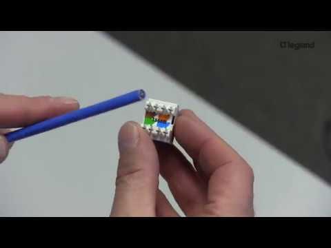 How-To: KS 110 Jack Termination (Keystone Footprint)