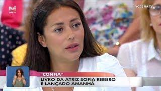 Em lágrimas, Sofia Ribeiro recorda a partida do pai