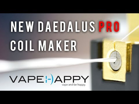 New Daedalus Pro Coil Maker: Unboxing and Build!