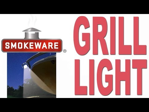 Smokeware's Grill Light for the Big Green Egg