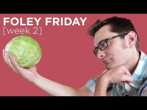 Kung Fu Cabbage - Foley Friday 2